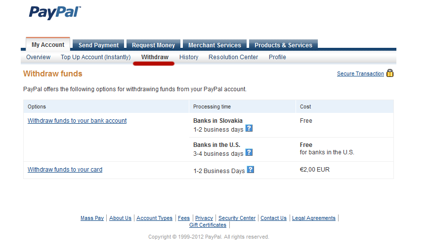PayPal nvod - ako na registrciu, dobitie peaz na et a vber
